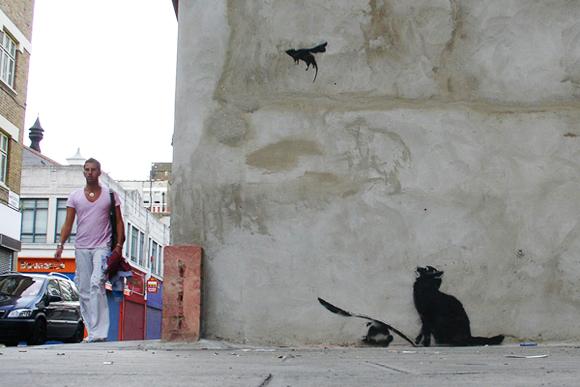 Banksy's Ratapult