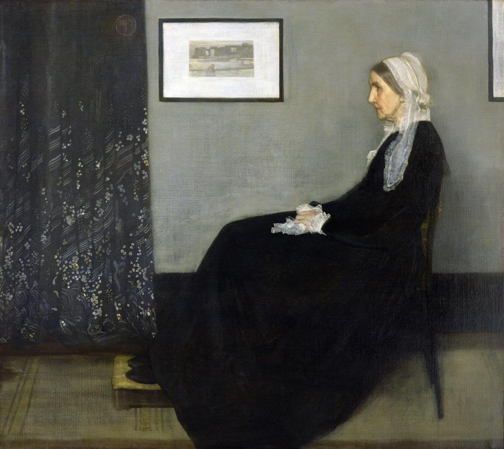 Whistler's Mother, painting by James Abbott McNeill Whistler,