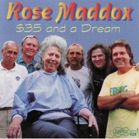 Rose Maddox, country singer, CD cover: $35 and a Dream