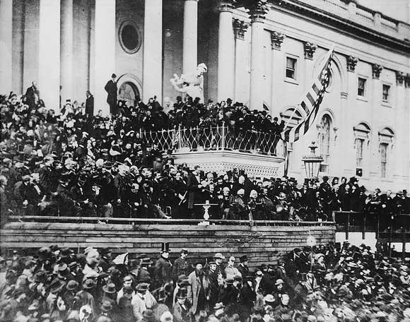 Lincoln's second inaugural, March 4, 1865