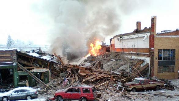 Bozeman before the downtown gas line explosion