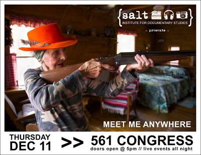 Poster for the SALT Meet Me Anywhere event