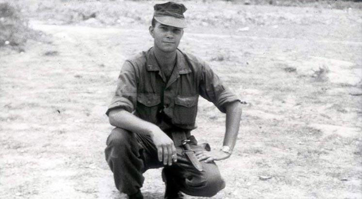 Lance Corporal Michael A. Baronowski in Vietnam