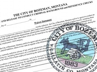 City of Bozeman seal