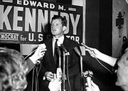 Ted Kennedy delivering RFK eulogy