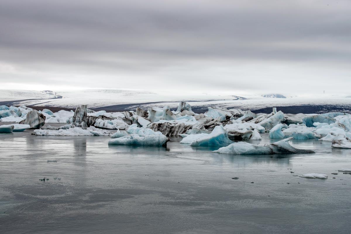 Vatnajökull Glacier in Iceland, 2015, by Anjali Kiggal