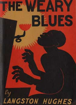 Book cover: Weary Blues, by Langston Hughes