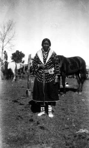 Crow Woman, 1924, Crow Agency, MT