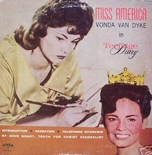 Teenage Diary, Miss America: LP cover