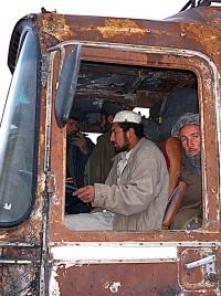 Bus near Balkh