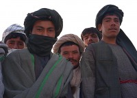 Guys near Barat Hotel in Mazar