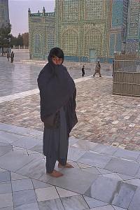 Man at Mazar mosque