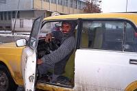 Taxi driver in Mazar