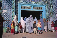 Women and children at the mosque
