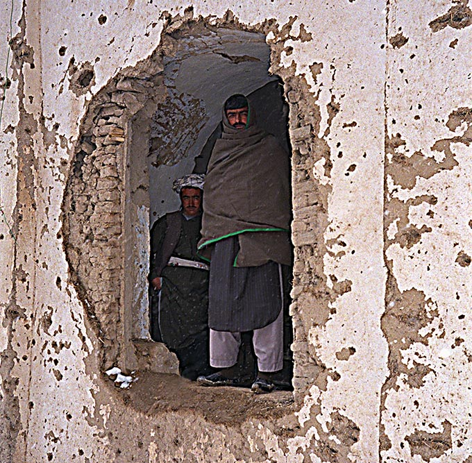 Qala-i-Jhangi hole in the wall