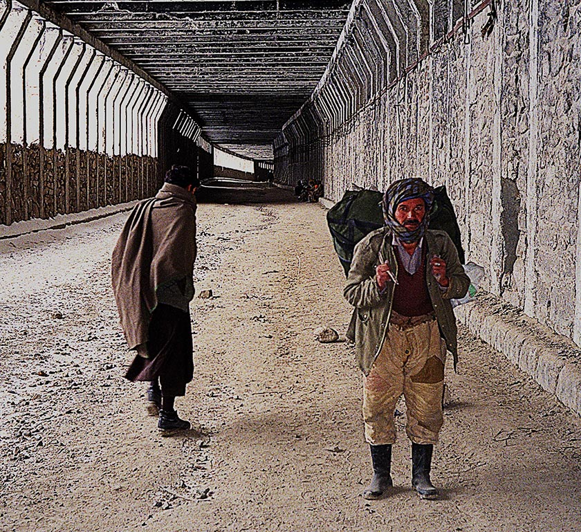 In Salang tunnel