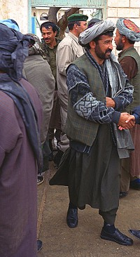 General Dostum's men in Sherbigan