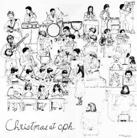 Christmas at CPH- album cover- front