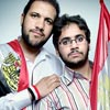 Muslim Brotherhood's youth movement leaders Mohammed Abbas, Moaz Abdel Kareem (Photo 2011 by Platon for Human Rights Watch)