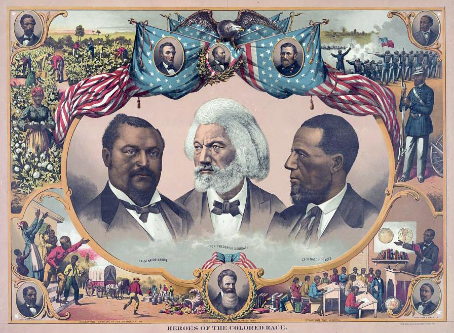 Heroes of the Colored Race