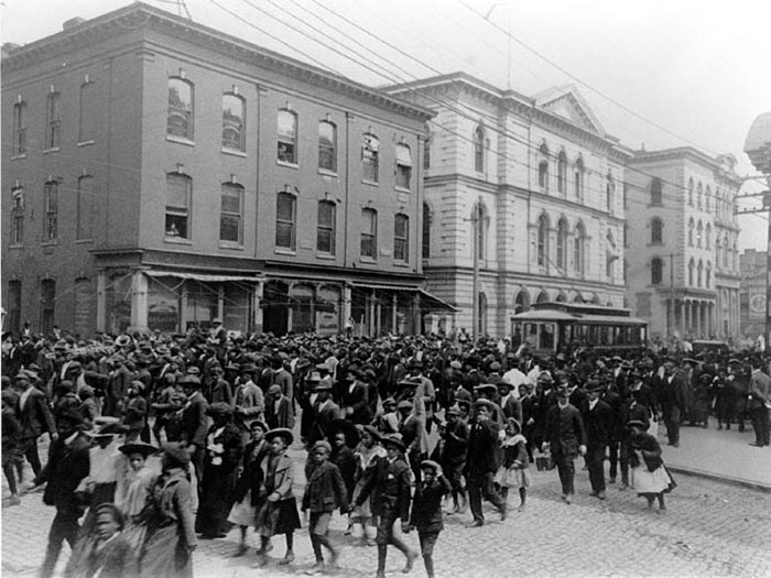 Emancipation Day celebration in Richmond, Virginia, June 19 1905