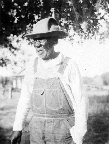 Wallace Quarterman, former slave