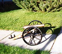 Pat Vowell's cannon