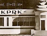 KPRK art-deco building, Livingston MT