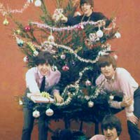 Beatles Christmas record cover, 1963