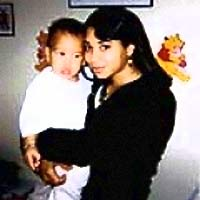 Melissa Rodriguez and baby Isaiah