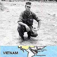 Photo of Lance Corporal Baronowski in Vietnam