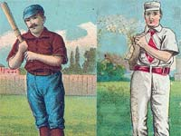 Early 1900s baseball cards