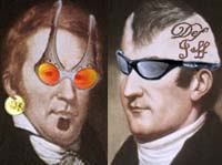 Lewis and Clark with sunglasses
