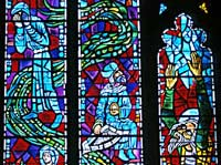 Washington National Cathedral window, by Rowan LeCompte