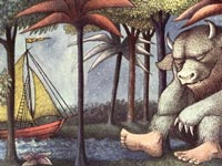 Illustration from Where the Wild Things Are