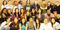 Curie Youth Radio group photo