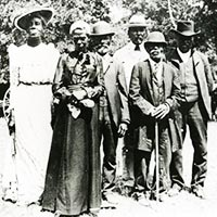 Juneteenth day celebration in Texas, June 19 1900