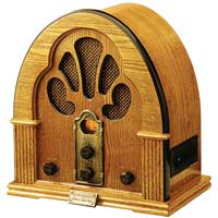 Old-time classic radio, drawn by Eli 5 Stone