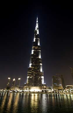 Dubai- tallest building